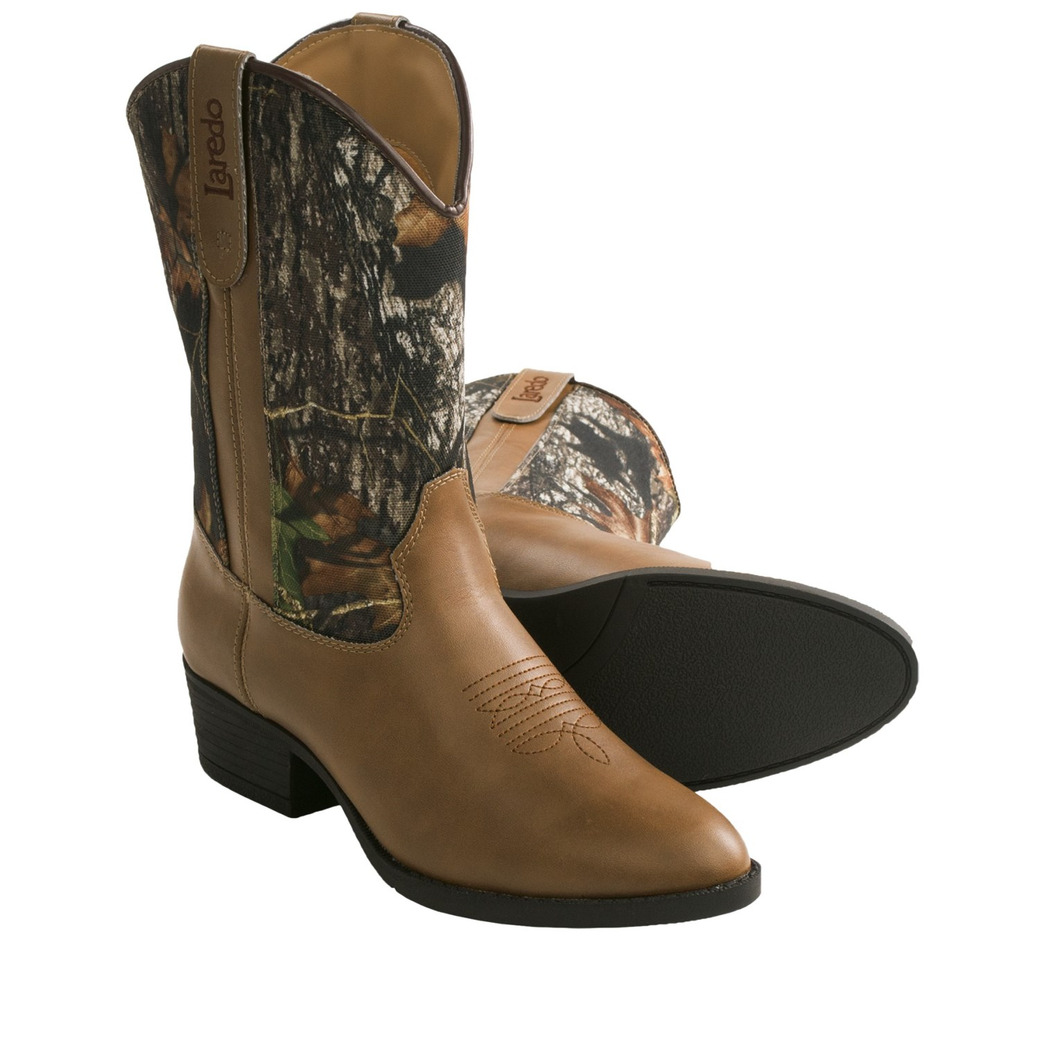laredo woody cowboy boots toe for youth boys and
