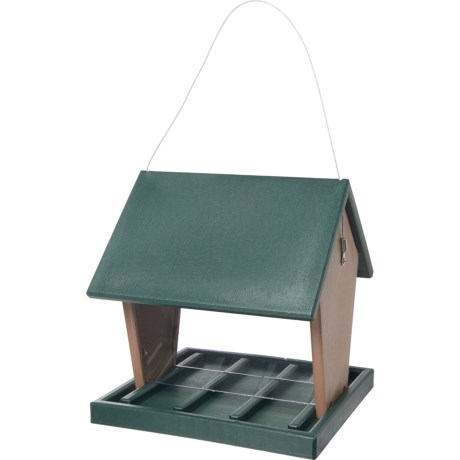 Large Hopper Bird Feeder - Recycled Materials - MULTI ( ) (972MG-01) photo