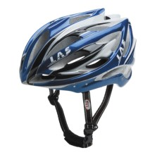 LAS Victory Cycling Helmet (For Men and Women) in Blue/Silver/Black/White - Closeouts