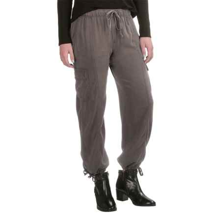 L'atelier Drawstring Cargo Pants (For Women) in Moonrock - Closeouts