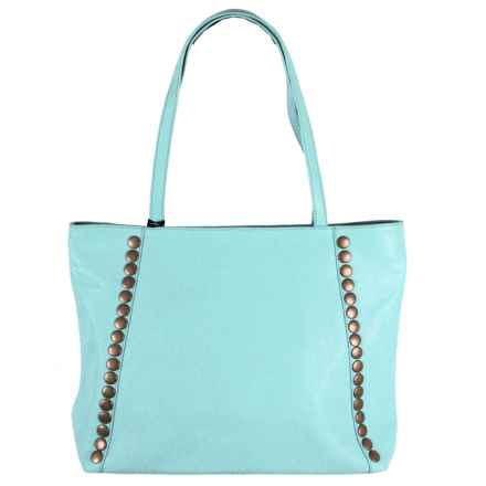 Latico Bowie Tote Bag - Leather in Ocean - Closeouts