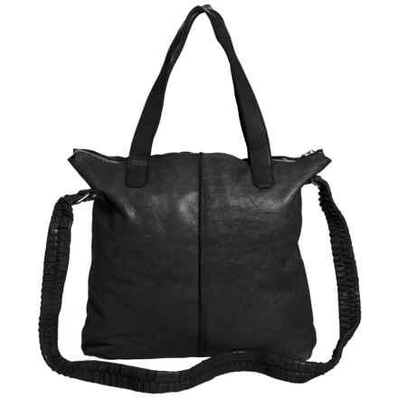 Latico Dean Tote Bag - Leather (For Women) in Black - Closeouts