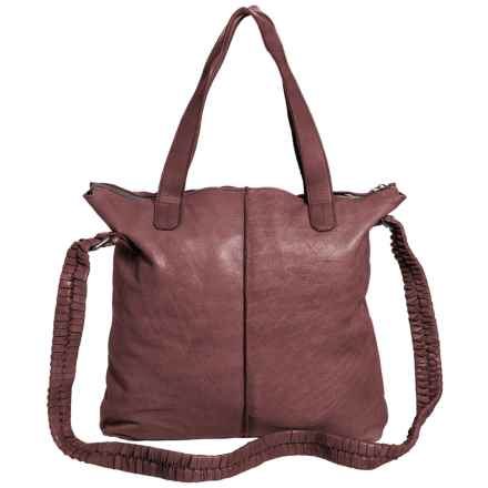 Latico Dean Tote Bag - Leather (For Women) in Taupe - Closeouts