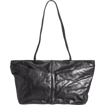 4c33f8cd1e7b1f Latico East-West Front Zip Pocket Tote Bag - Leather (For Women) in