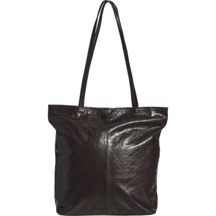 10496053c2 Latico Medium North-South Zip Tote Bag - Leather (For Women) in Black