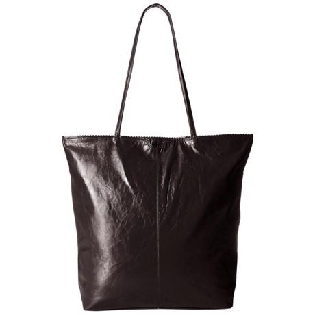 Latico North South Leather Tote Bag (For Women) in Espresso