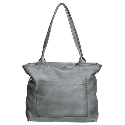 Latico Sonia Tote Bag - Leather (For Women) in Washed Black - Closeouts