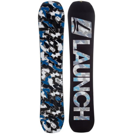 19fe612edc58 Launch Snowboards 2018 Hitmaker RC Snowboard in See Photo - Closeouts