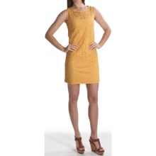 Laundry by Design Crochet Lace Sheath Dress - Sleeveless (For Women) in Daisy - Closeouts