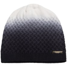 Laundry by Design Dip-Dye Wool Beanie (For Women) in Black/Warm White - Closeouts