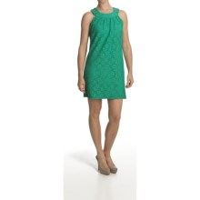 Laundry by Design Passion Flower Lace Dress - Sleeveless (For Women) in Aloe Vera - Closeouts