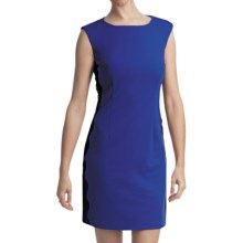 Laundry by Design Ponte Knit Dress - Sleeveless (For Women) in Sapphire - Closeouts