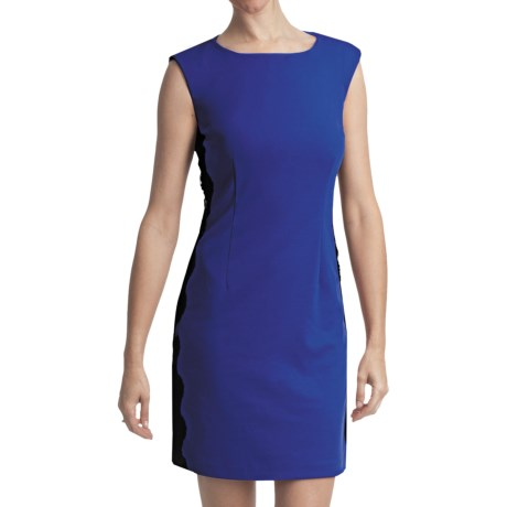 Laundry by Design Ponte Knit Dress - Sleeveless (For Women) in Sapphire