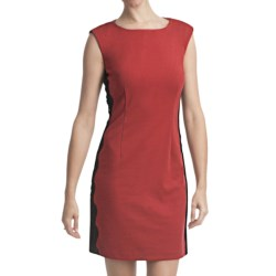 Laundry by Design Ponte Knit Dress - Sleeveless (For Women) in Vixen