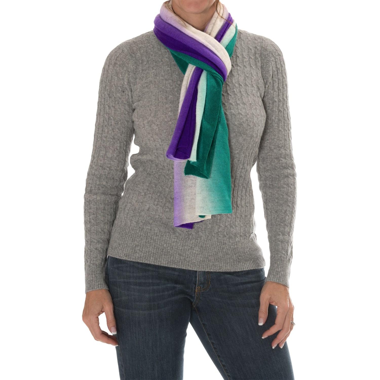Laundry By Design Wool Dip Dye Scarf For Women 9416w