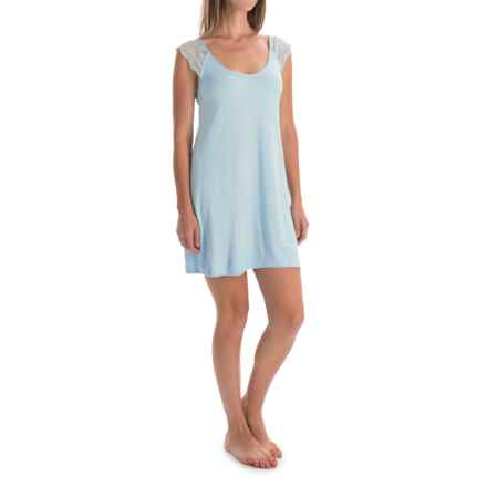 Laura Ashley Rayon Chemise - Sleeveless (For Women) in Aquarelle - Closeouts