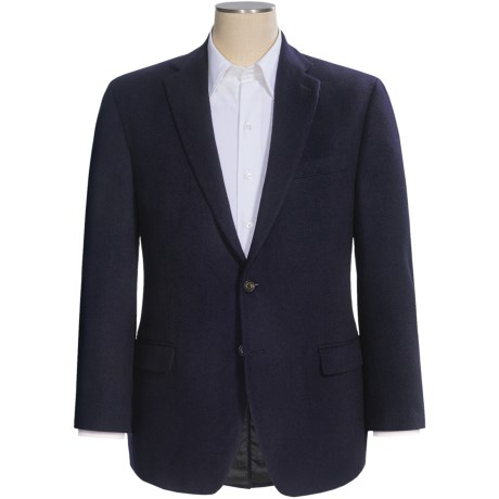 Lauren by Ralph Lauren Camel Hair Blazer (For Men) in Navy