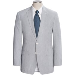 Lauren by Ralph Lauren Cotton Seersucker Suit (For Men) in Med Blue