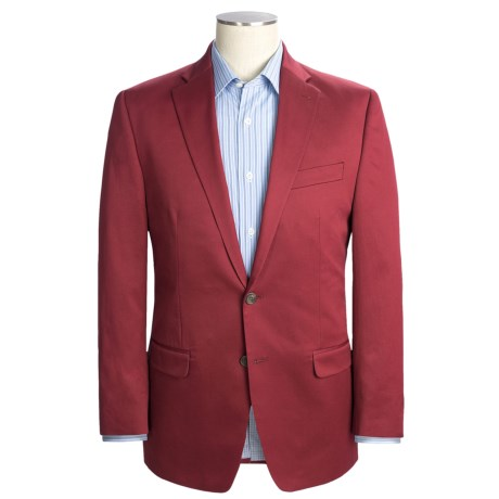 Lauren by Ralph Lauren Cotton Twill Sport Coat (For Men) in Red