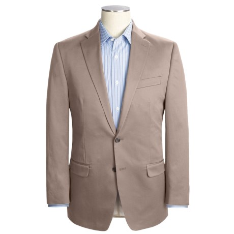 Lauren by Ralph Lauren Cotton Twill Sport Coat (For Men) in Tan