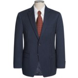 Lauren by Ralph Lauren Dark Charcoal Stripe Suit - Wool (For Men)