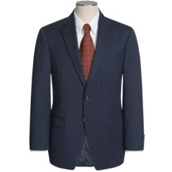 Lauren by Ralph Lauren Dark Charcoal Stripe Suit - Wool (For Men) in Blue
