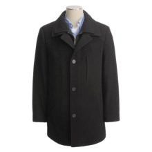Lauren by Ralph Lauren Dorian Coat - Wool (For Men) in Black - Closeouts