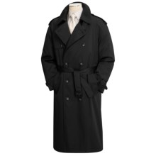 Lauren by Ralph Lauren Double-Breasted Trench Coat (For Men) in Black - Closeouts