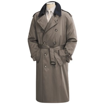 Lauren by Ralph Lauren Double-Breasted Trench Coat (For Men) in Taupe
