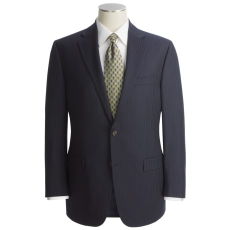 Lauren by Ralph Lauren Double Stripe Suit - Wool (For Men) in Navy