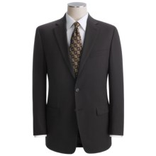 Lauren by Ralph Lauren Fancy Solid Suit - Wool (For Men) in Black - Closeouts