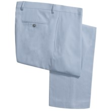 Lauren by Ralph Lauren Flat Front Pants (For Men) in Lilac - Closeouts