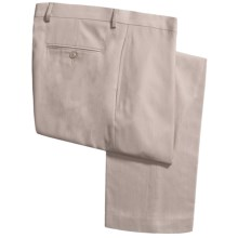 Lauren by Ralph Lauren Flat Front Pants (For Men) in Stone - Closeouts