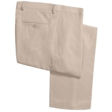 Lauren by Ralph Lauren Flat Front Pants (For Men) in Yellow - Closeouts