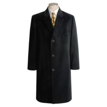 Lauren by Ralph Lauren Full-Length Top Coat - Wool (For Men) in Black - Closeouts