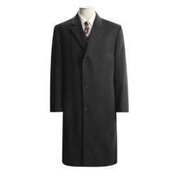 Lauren by Ralph Lauren Full-Length Top Coat - Wool (For Men) in Charcoal
