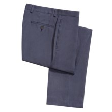 Lauren by Ralph Lauren Gabardine Dress Pants (For Men) in Med Blue - Closeouts