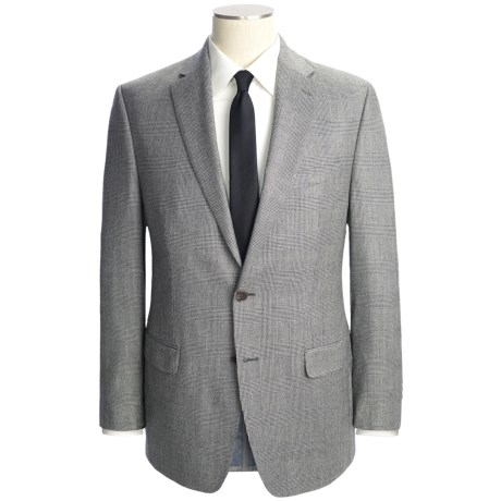 Lauren by Ralph Lauren Glen Plaid Suit - Wool-Cashmere (For Men) in Black/White