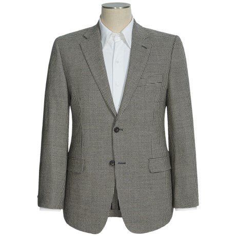 Lauren by Ralph Lauren Houndstooth Sport Coat - Lambswool (For Men) in Black/White