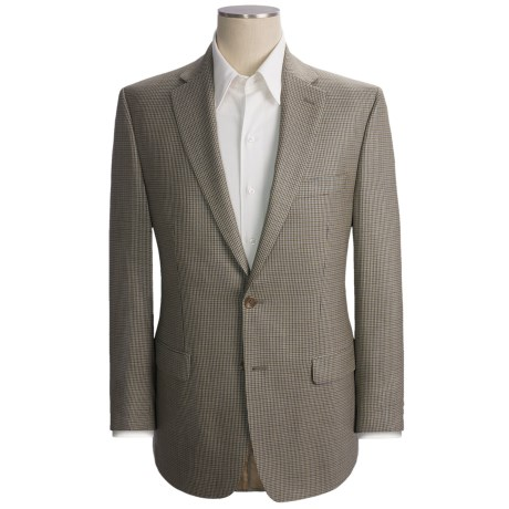 Lauren by Ralph Lauren Houndstooth Sport Coat - Silk-Wool (For Men) in Beige