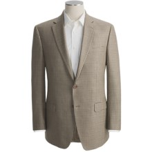Lauren by Ralph Lauren Houndstooth Sport Coat - Silk-Wool (For Men) in Tan/Brown - Closeouts