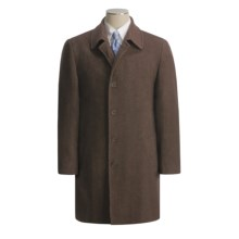 Lauren by Ralph Lauren Ivy Top Coat - Wool Twill (For Men) in Brown Twill - Closeouts