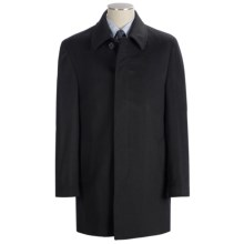 Lauren by Ralph Lauren Jake Topcoat - Wool (For Men) in Black - Closeouts