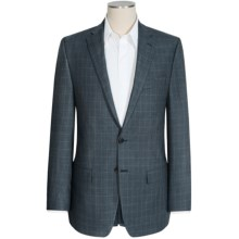 Lauren by Ralph Lauren Leland Houndstooth Sport Coat - Silk-Wool (For Men) in Navy - Closeouts