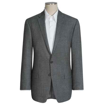 Lauren by Ralph Lauren Leland Houndstooth Sport Coat - Wool (For Men) in Grey - Closeouts