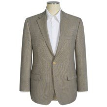 Lauren by Ralph Lauren Leland Micro Houndstooth Sport Coat (For Men) in Grey/Blue - Closeouts