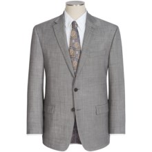Lauren by Ralph Lauren Lexington Sharkskin Suit (For Men) in Light Grey - Closeouts