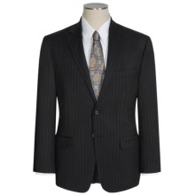 Lauren by Ralph Lauren Lexington Suit - Beaded Stripe (For Men) in Black - Closeouts