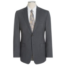 Lauren by Ralph Lauren Lubbock Stripe Suit - Slim Fit, Wool (For Men) in Charcoal Stripe - Closeouts