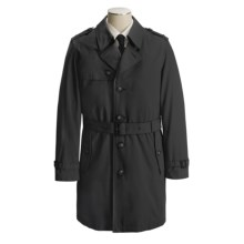 Lauren by Ralph Lauren Maxwell Belted Raincoat - Removable Liner (For Men) in Black - Closeouts